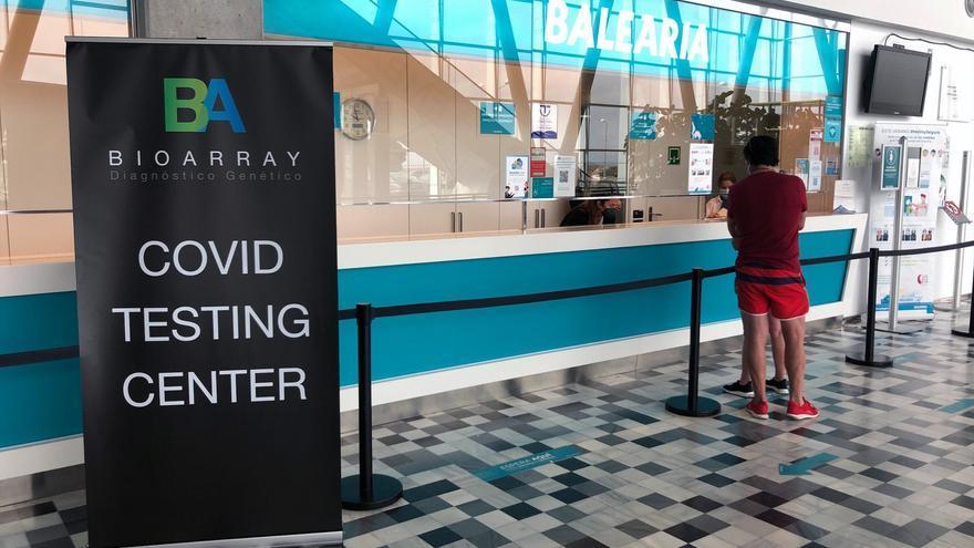 Los pasajeros de Baleària pueden hacerse una prueba de antígenos antes de embarcar en Dénia