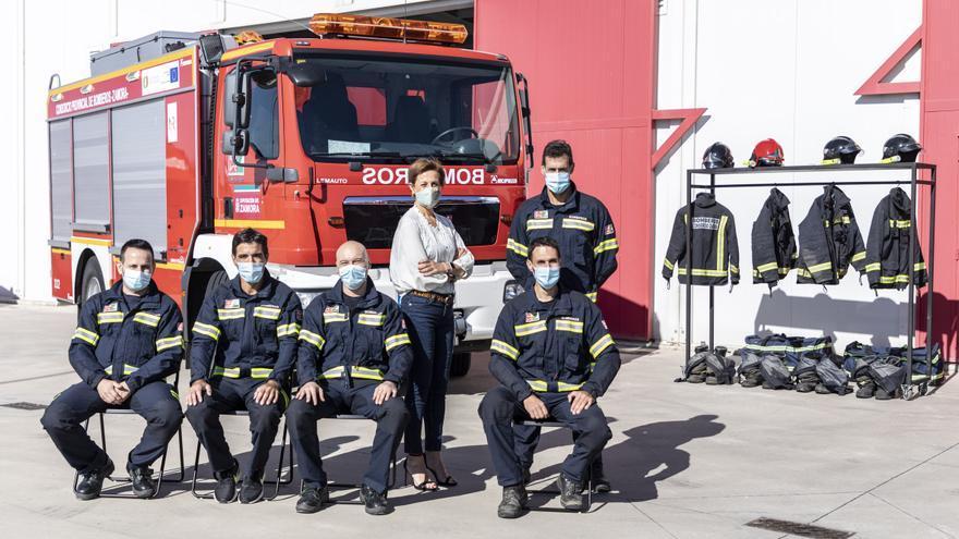 """Ana Mayor: """"Queremos darle más visibilidad a los bomberos de Zamora: salvan vidas y se la juegan"""""""