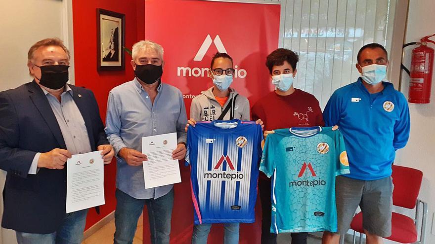 Montepio patrocina el primer equip femení de Futbol Sala Casserres