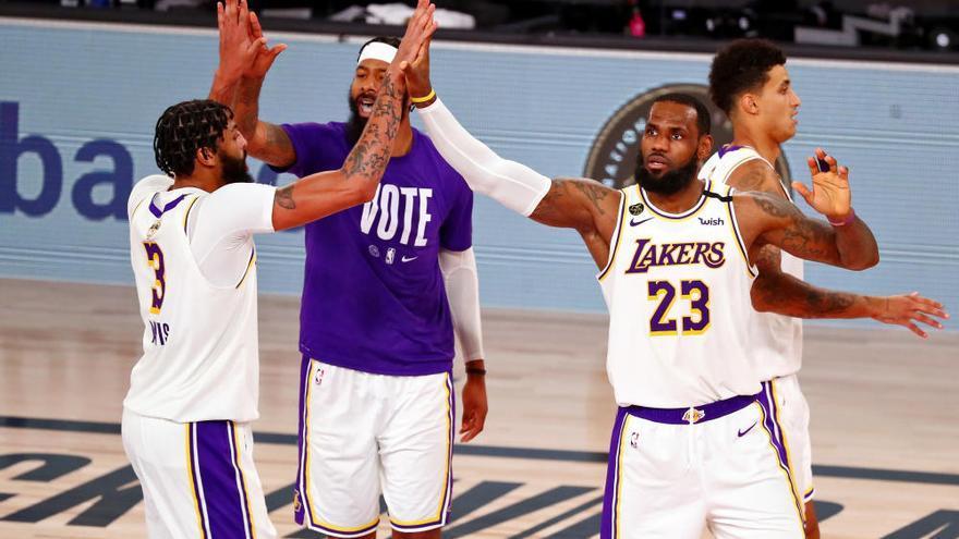 Los Lakers conquistan el anillo en honor a Kobe Bryant
