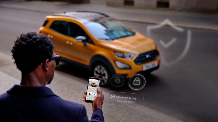 SecuriAlert, el sistema de Ford que alerta a los conductores si su coche está siendo robado