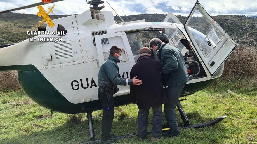 La Guardia Civil localiza a un hombre desaparecido en Villalcampo