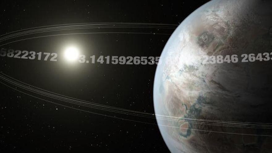 Descubren el planeta Pi, que gira alrededor de su estrella cada 3,14 días