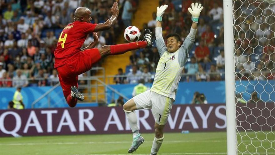 Bélgica remonta ante Japón y se hace más fuerte