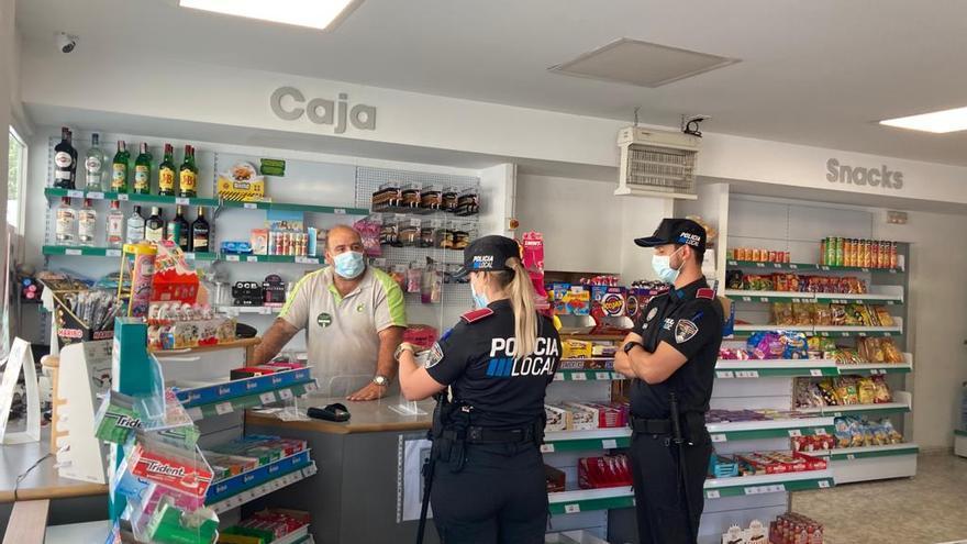 Ortspolizei von Palma de Mallorca hat 10.600 Verstöße gegen Corona-Restriktionen festgestellt