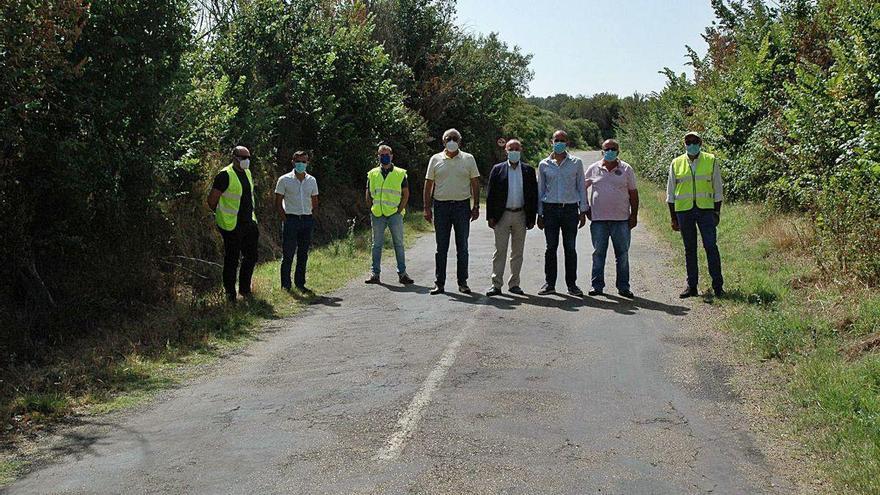 Comienzan las obras en la carretera que une Corrales del Vino con Fuentelcarnero