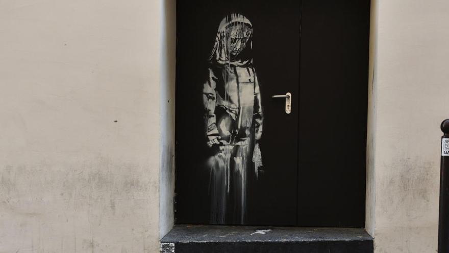 Seis detenidos por el robo en 2019 del Banksy del Bataclan