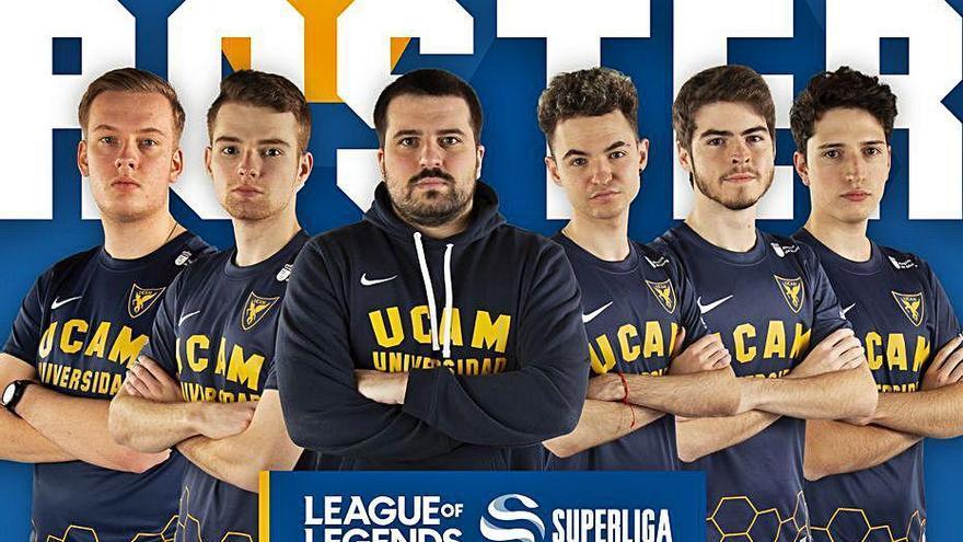 UCAM Esports, único club profesional de deportes electrónicos en la Región