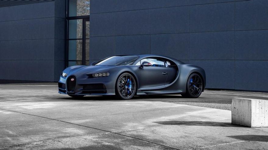 Bugatti celebra sus 110 años con esta edición limitada del Chiron Sport
