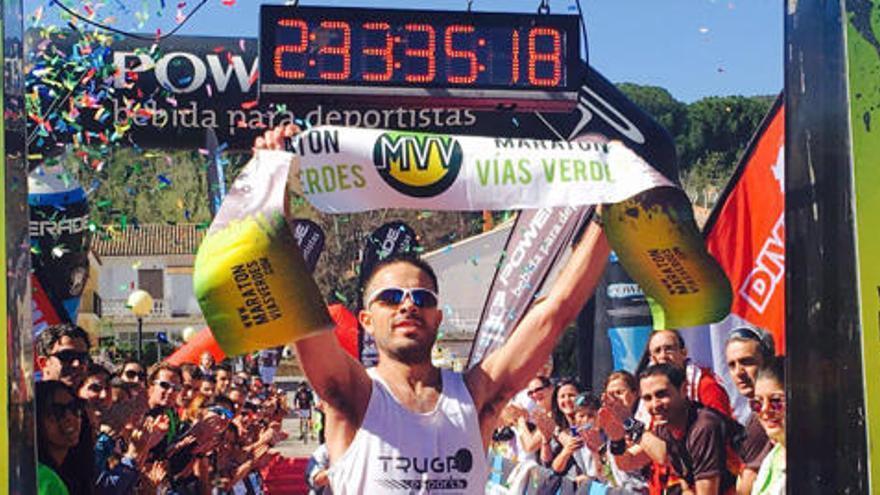 El Maratón Vías Verdes Ojos Negros llenó de corredores el Alto Palancia