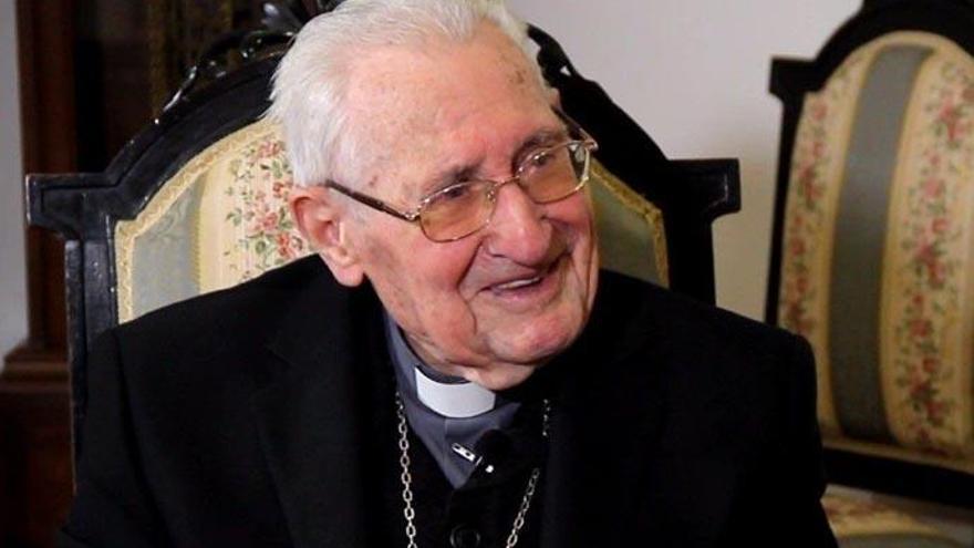 Muere el obispo emérito de Tenerife a los 104 años de edad