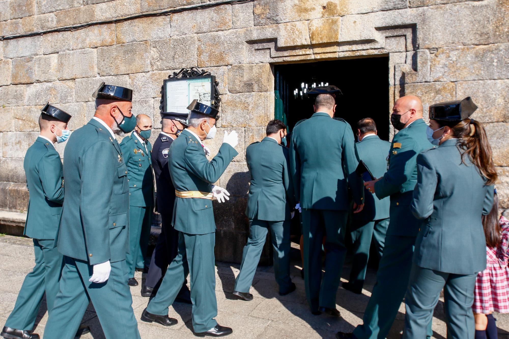 La Guardia Civil de Cambados rinde homenaje a su patrona