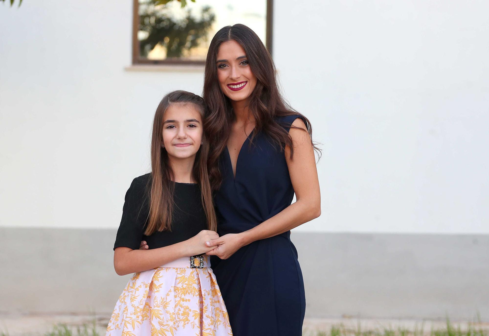 Primera aparición de las candidatas a falleras mayores de València 2022