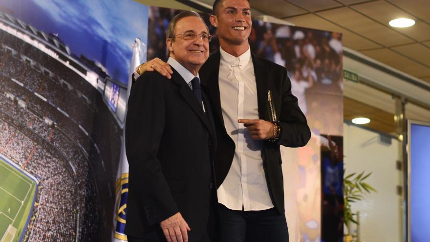 """Florentino Pérez llamó """"imbécil"""" a Cristiano Ronaldo y """"anormal"""" a Mourinho"""