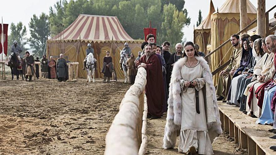 El Cid entra en la batalla televisiva