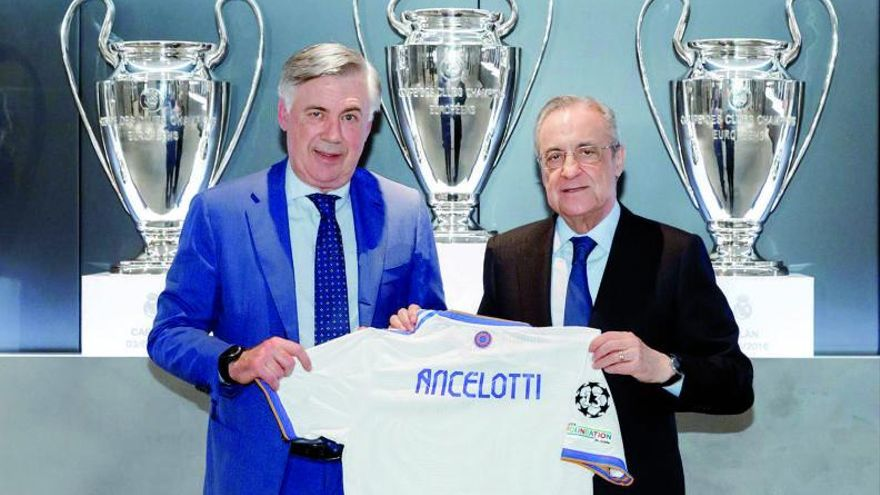 "Ancelotti: ""Vamos a reducir la plantilla"""