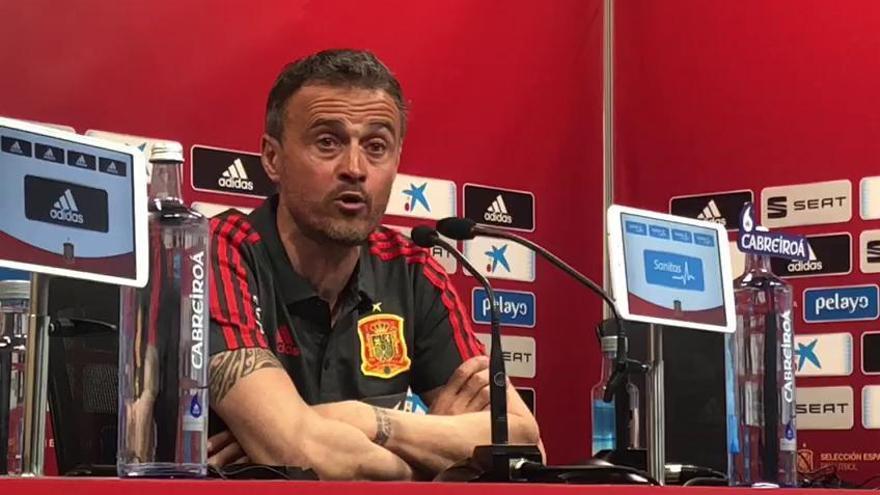 """Luis Enrique: """"Me gustaría ver lleno Mestalla"""""""