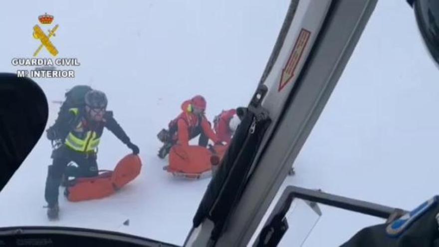 Fallece un montañero vasco de 66 años en Picos de Europa al caer por una ladera helada