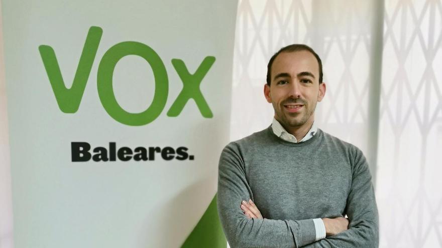 Sergio Rodríguez Garí es el nuevo coordinador de Vox Palma