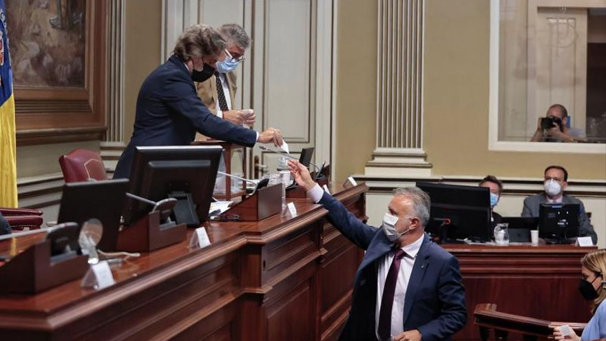 Pleno del Parlamento de Canarias (26/05/2021)