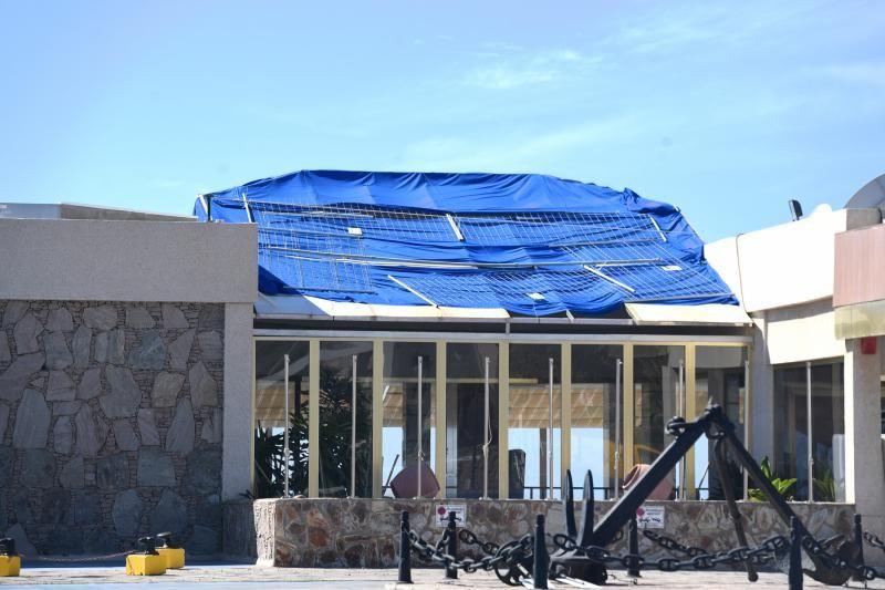Obras en el Hotel Servatur Puerto Azul en Puerto Rico