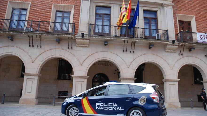 Detenidos dos hombres por sendos robos con fuerza en establecimientos de Teruel