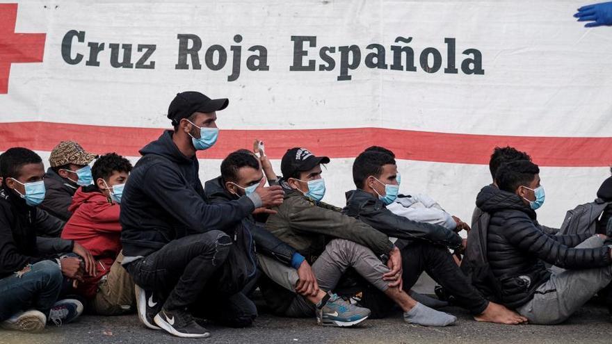 La llegada de inmigrantes irregulares subió un 29% en 2020