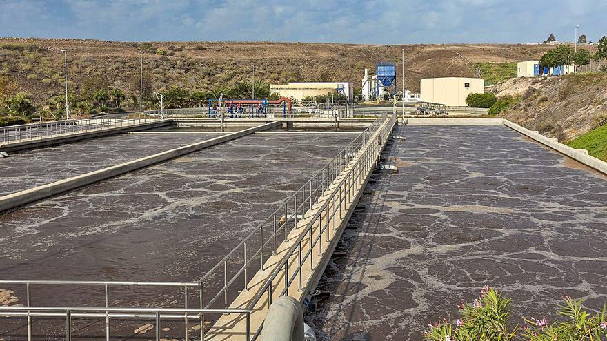 Planta de tratamiento de aguas residuales de Canaragua.   ALEJANDRO QUEVEDO