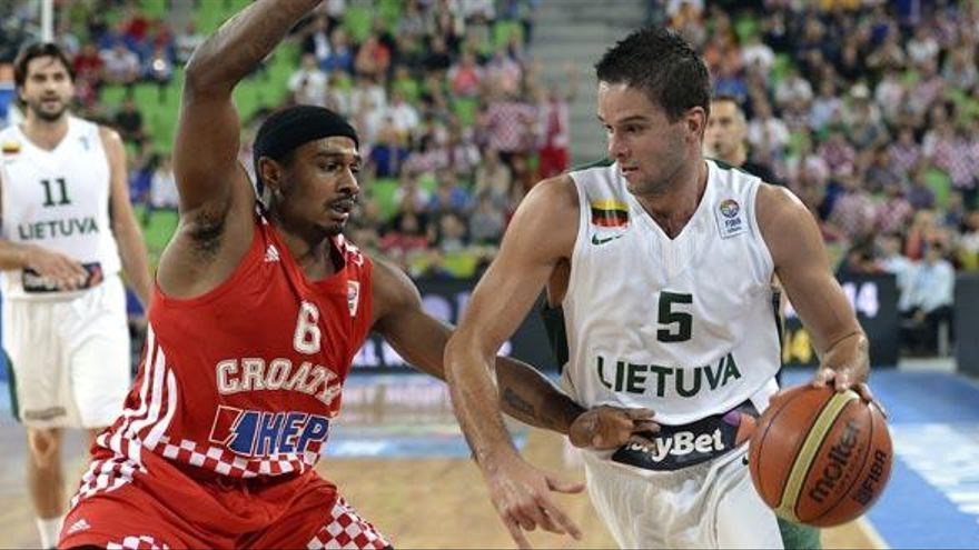 Lituania doblega a Croacia para acceder a la final