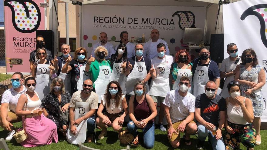 'Cocineros en ruta' realiza su primera parada en Bullas