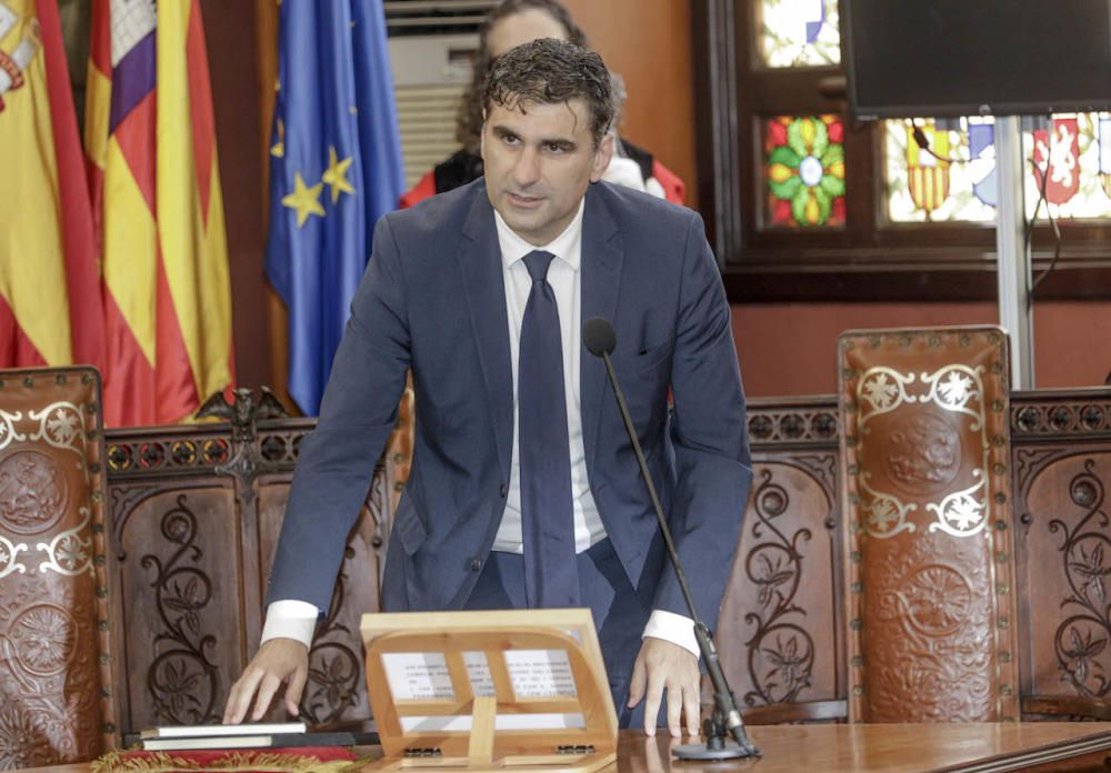 José Hila, nuevo alcalde de Palma