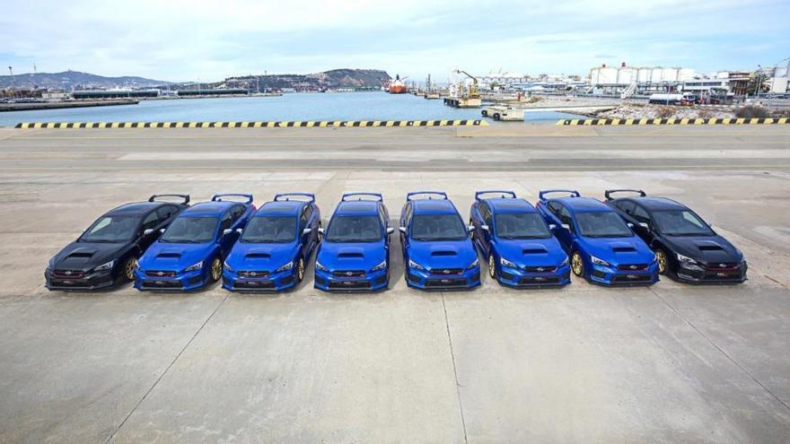 Subaru lanza 8 WRX STI Final Edition para despedir a su mítico deportivo