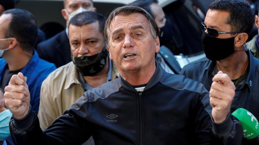 Bolsonaro recibe el alta médica