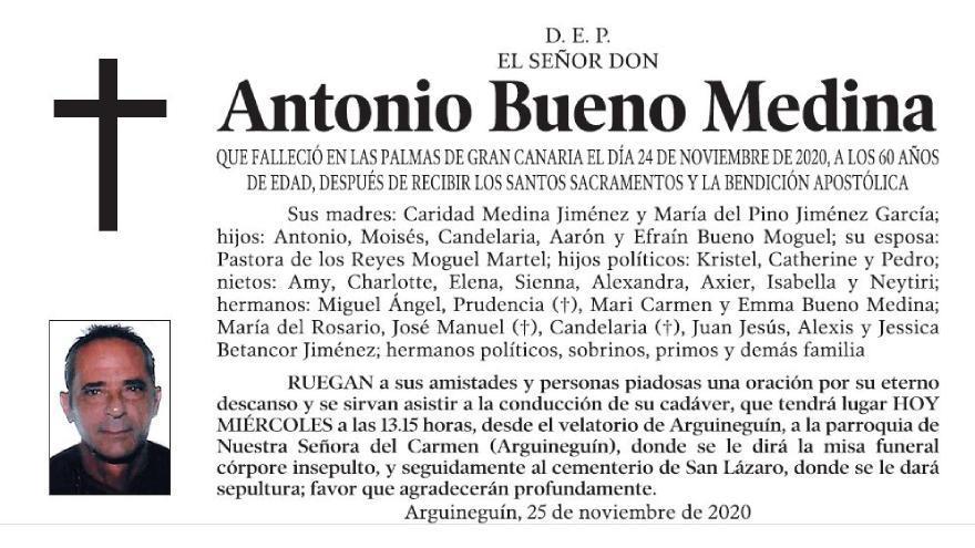Antonio Bueno Medina