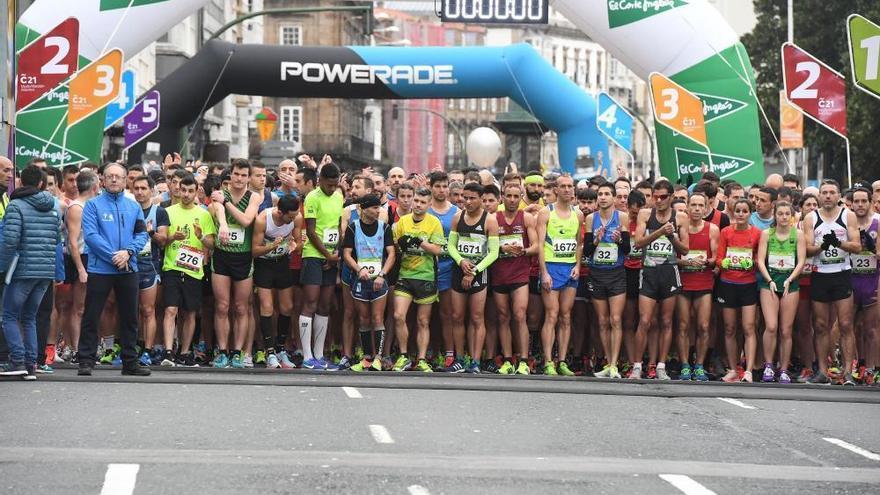 El medio maratón Coruña21 alcanza las 2.000 inscripciones