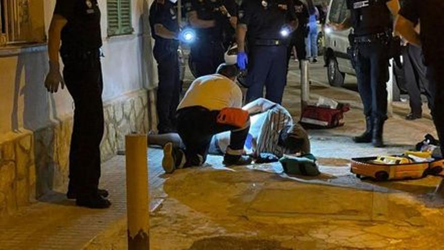La Policía detiene al hombre que apuñaló cuatro veces a otro en la barriada de Corea