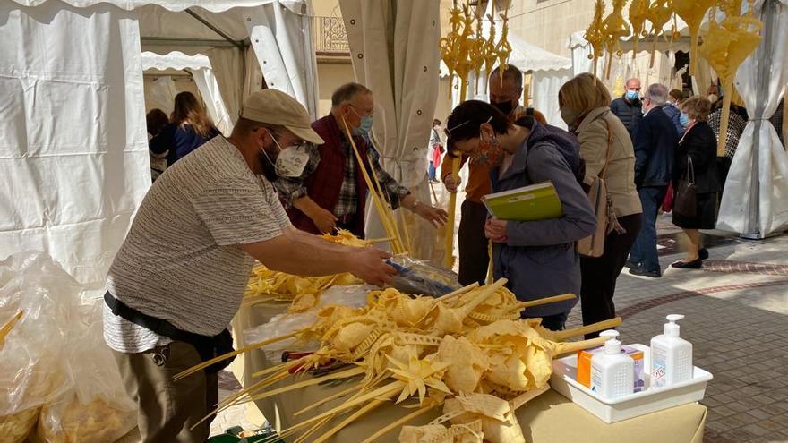 Así está el ambiente en el mercado de la Palma Blanca