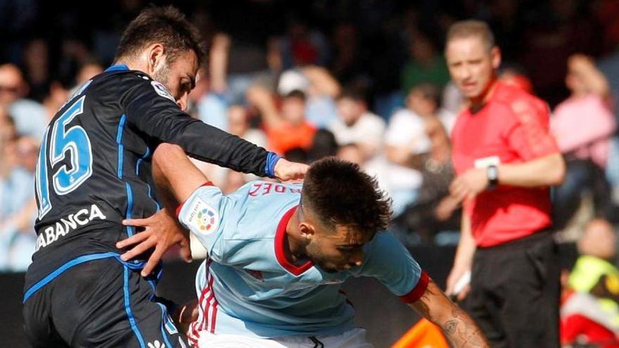 El Deportivo liquida las opciones europeas del Celta en el descuento