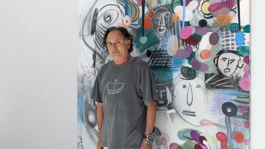 Rafa Forteza inaugura exposición en el Studio Weil de Port d'Andratx