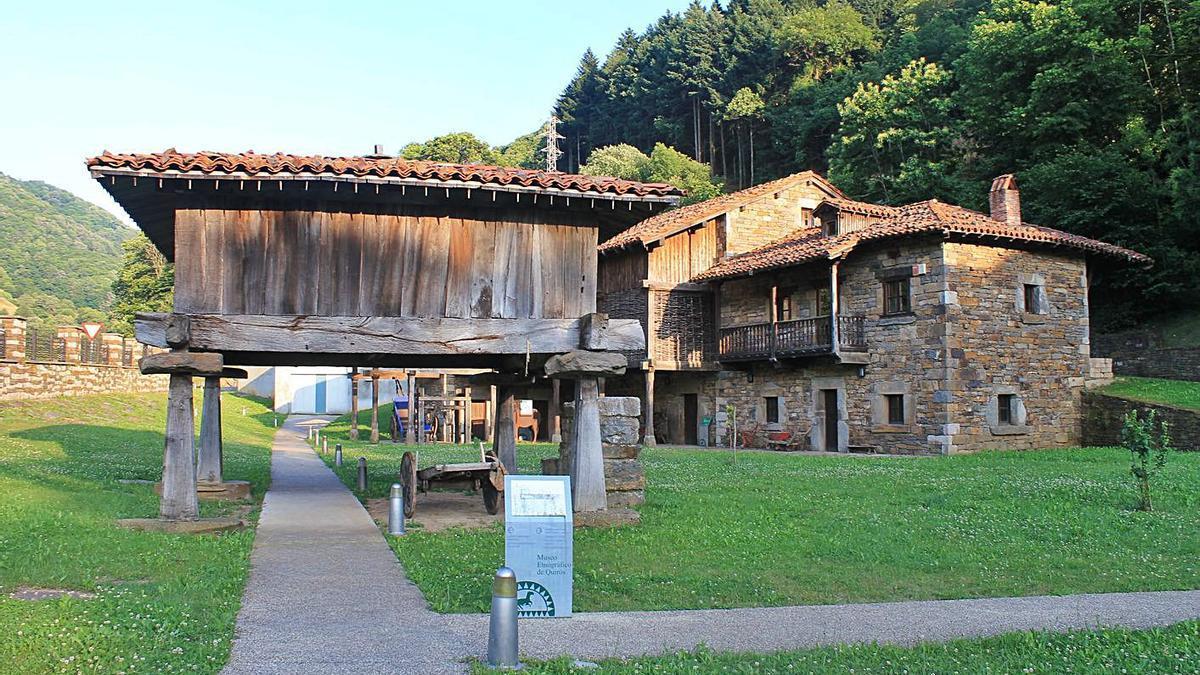 Las instalaciones del Museo de Quirós. | R. F. O.