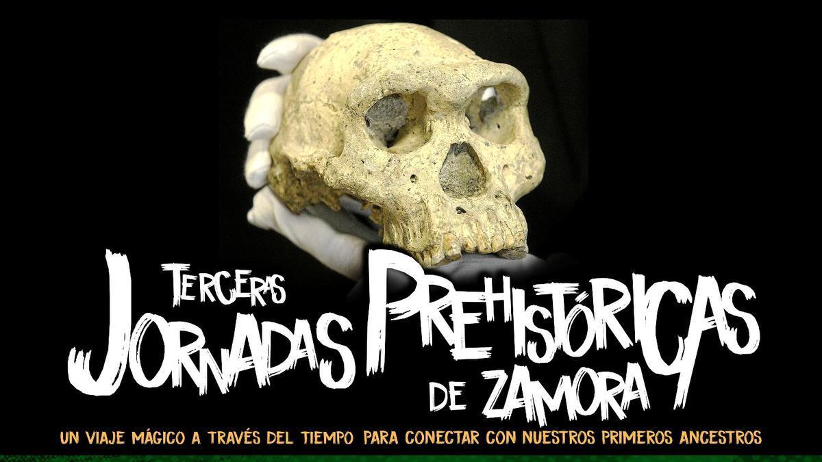 Cartel de las Jornadas Prehistóricas de Zamora.