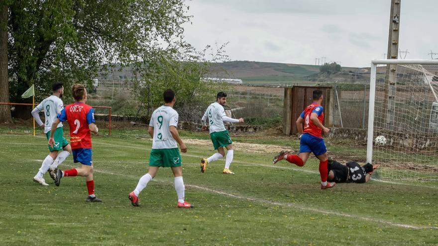 Benavente logra una importante victoria en Coreses (2-4)