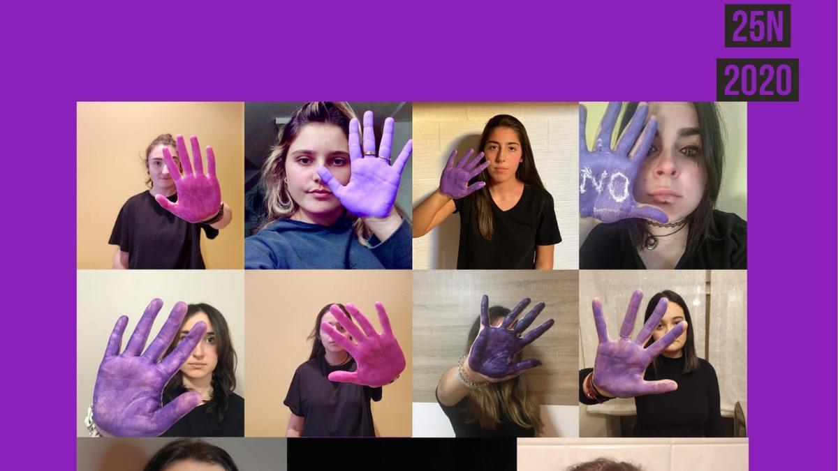 El cartel del vídeo.