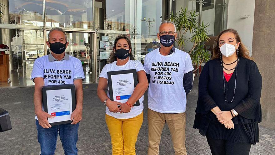 RIU vuelve a llevar su propuesta de reforma del hotel Oliva Beach a Costas
