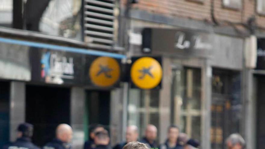 El atracador de un banco en Gijón afronta siete años y tres meses de cárcel