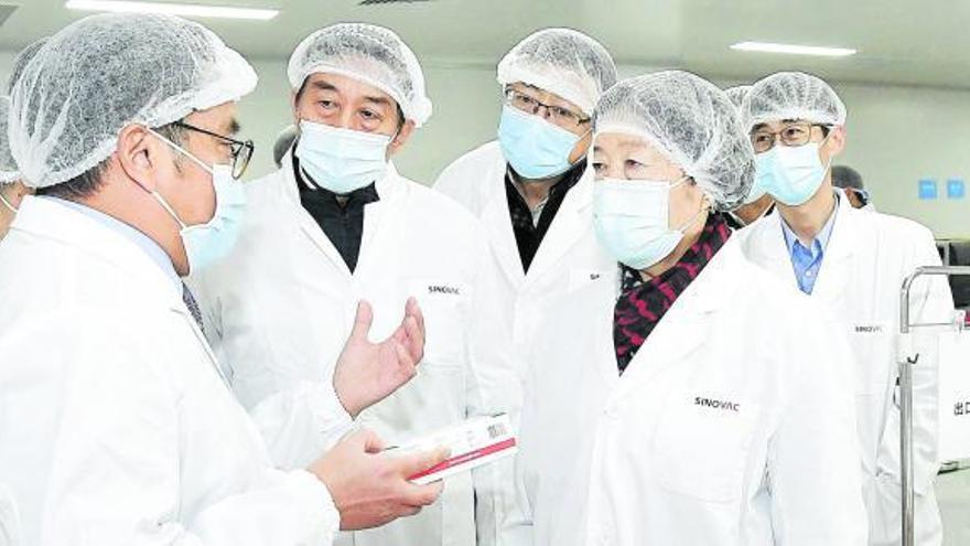 China comercializará 600 millones de vacunas antes de final de año