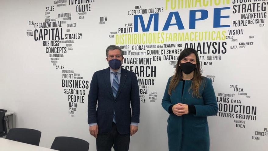 Una empresa dirigida por un forcaricense dona 40.000 mascarillas a Forcarei