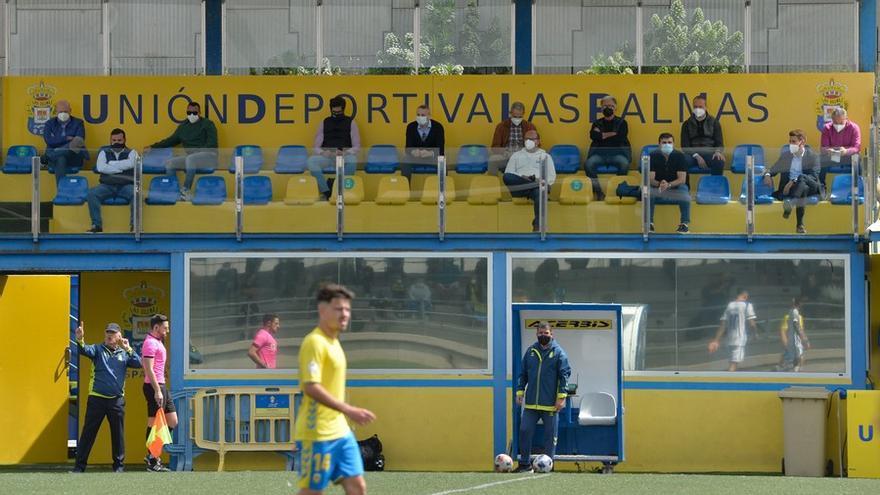Partido Las Palmas Atlético - Recreativo de Huelva