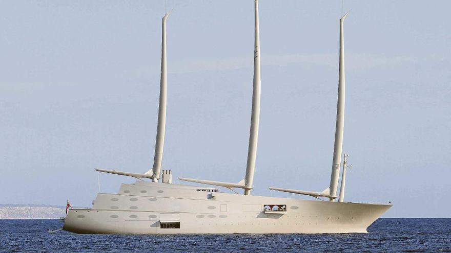 SY A: Uno de los yates más grandes y modernos del mundo