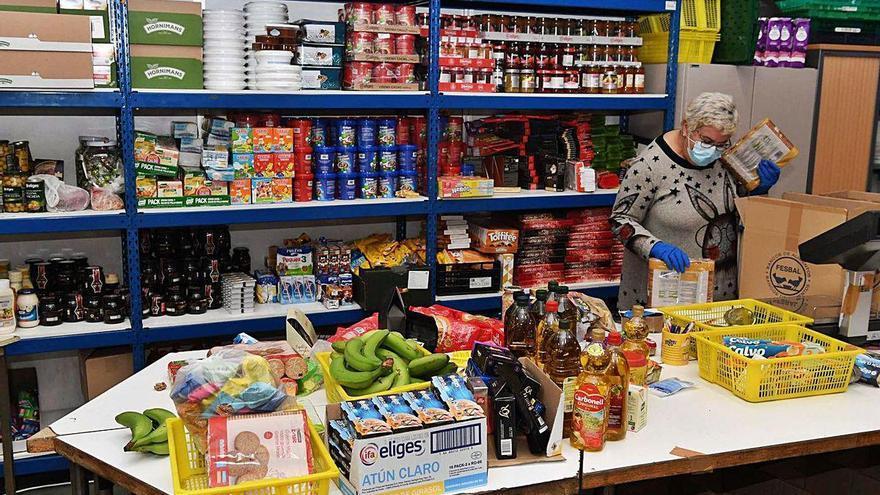 El SOS de los bancos de alimentos
